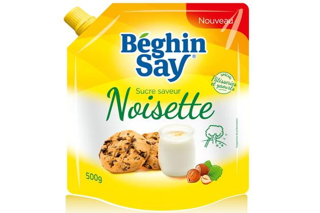 Le sucre saveur noisette de Béghin Say