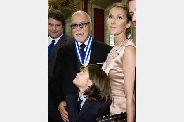 René reçoit l'Ordre National du Québec