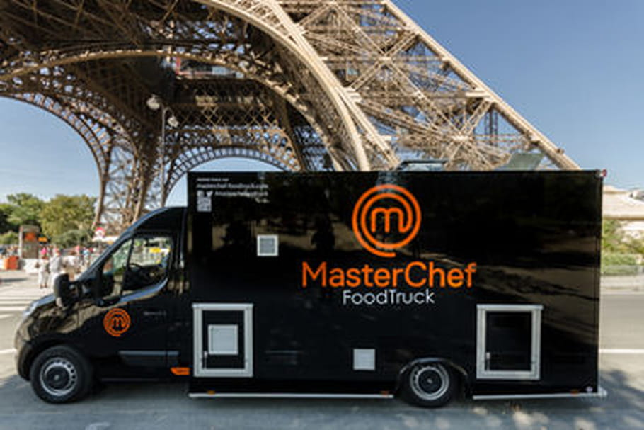 masterchef le foodtruck d bute sa tourn e. Black Bedroom Furniture Sets. Home Design Ideas