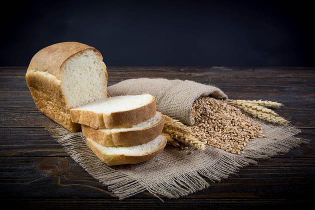Placer du pain de mie
