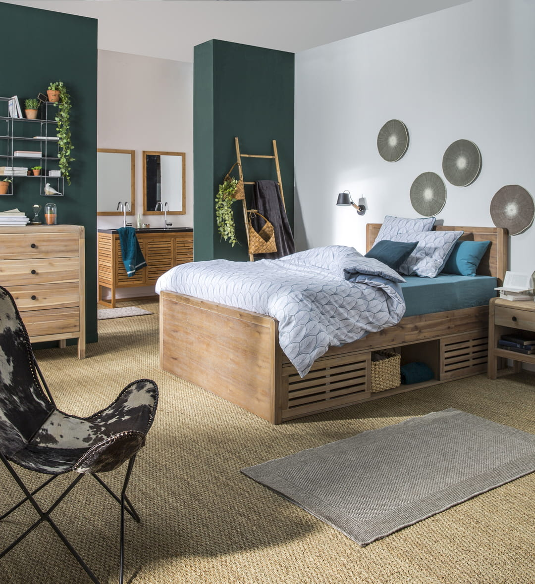 mobilier gain de place les 8 indispensables pour un petit espace. Black Bedroom Furniture Sets. Home Design Ideas