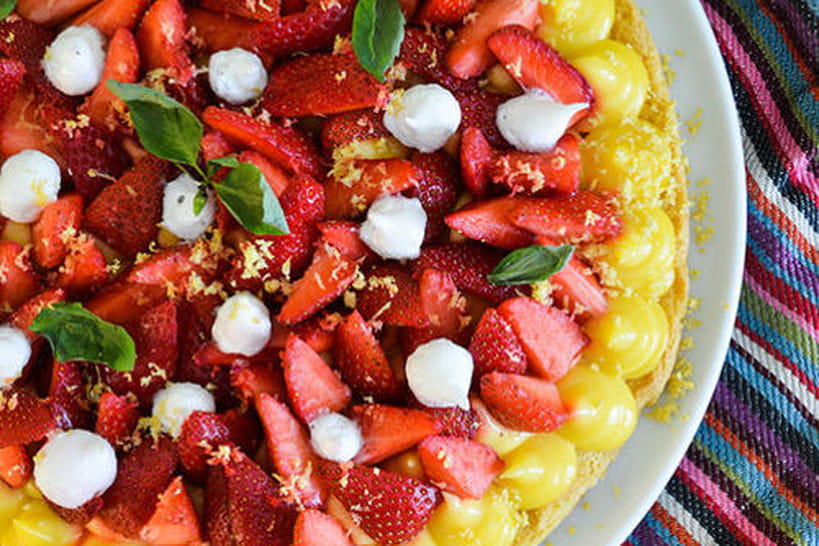 Recettes de tartes aux fraises