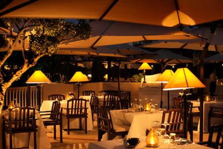Dîner romantique au restaurant L'Olivier