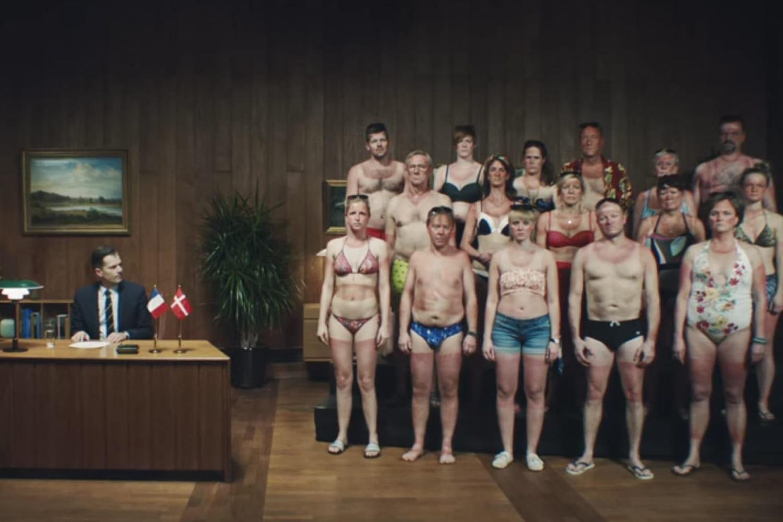 """""""Aidez un Danois"""", la campagne décalée qui alerte sur les risques de l'exposition au soleil"""