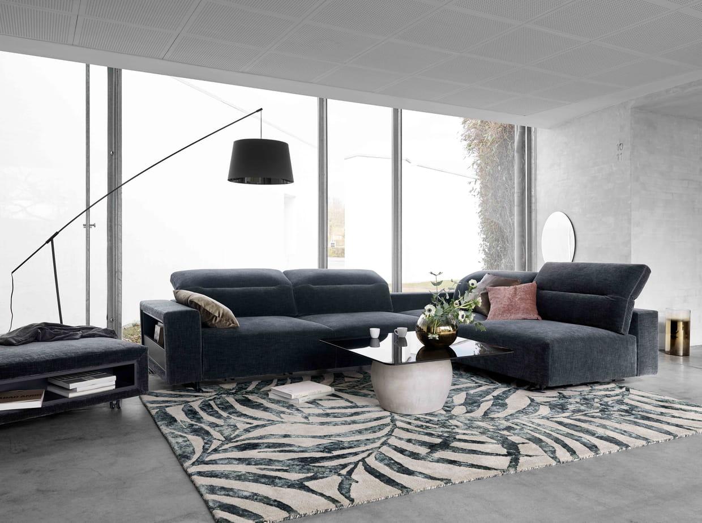 canap d 39 angle hampton par boconcept. Black Bedroom Furniture Sets. Home Design Ideas