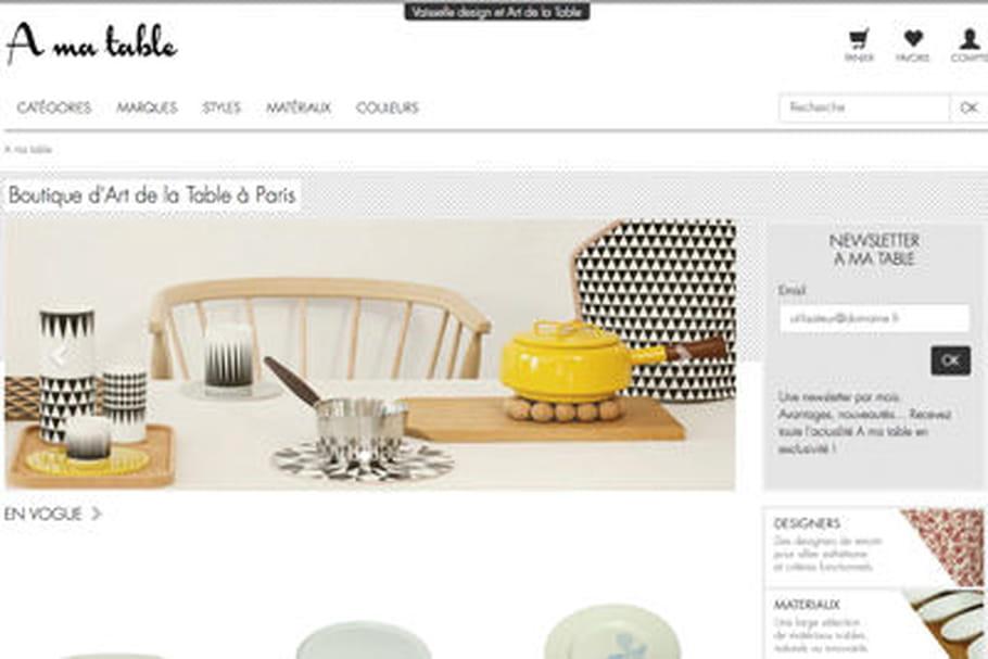 A ma table: l'art du design culinaire