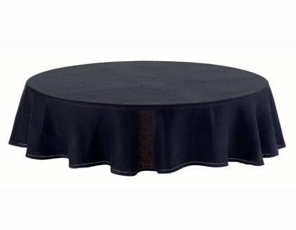une nappe en noir. Black Bedroom Furniture Sets. Home Design Ideas