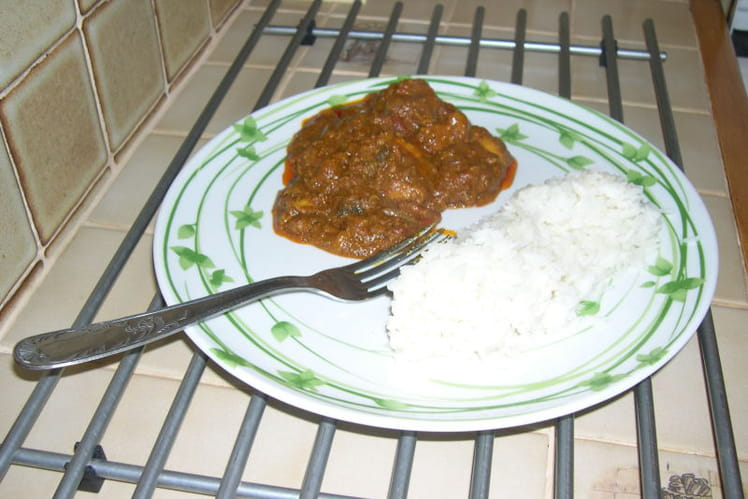 Poulet au curry à l'anglaise