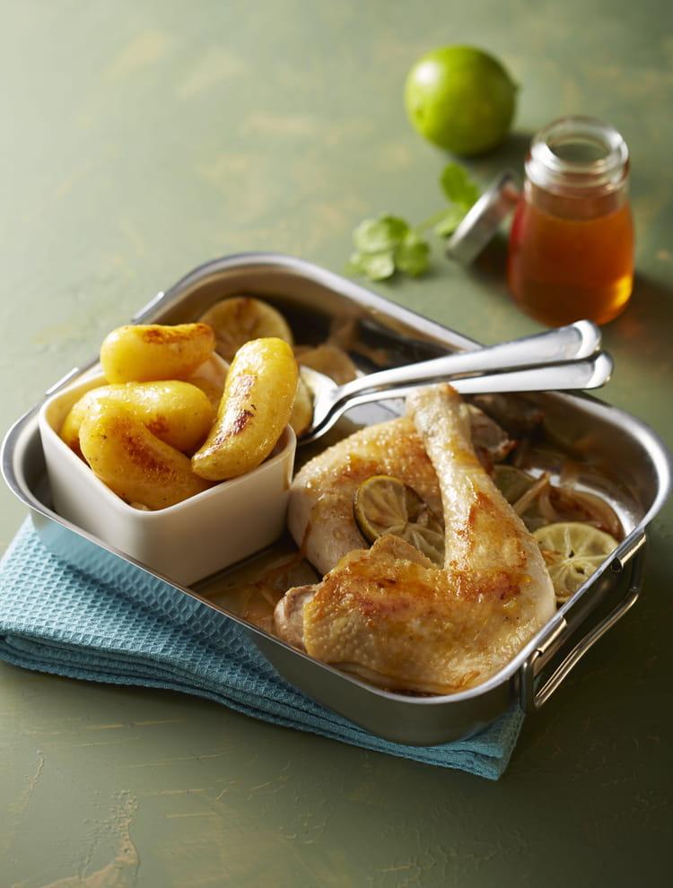 Recette de ratte du touquet au miel et au poulet la recette facile - Cuisiner la ratte du touquet ...
