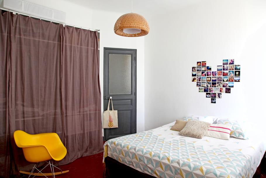 un patchwork de souvenirs relooker sa chambre avec moins de 50 euros journal des femmes. Black Bedroom Furniture Sets. Home Design Ideas