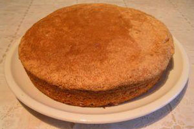 Gâteau de Savoie de grand-mère