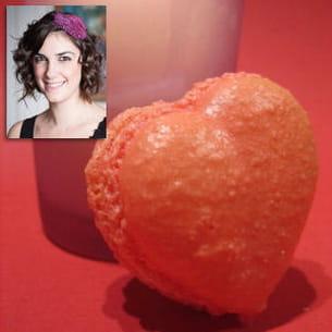 macaron rose-litchi