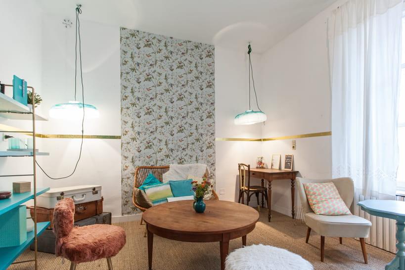 que faire avec du papier peint. Black Bedroom Furniture Sets. Home Design Ideas