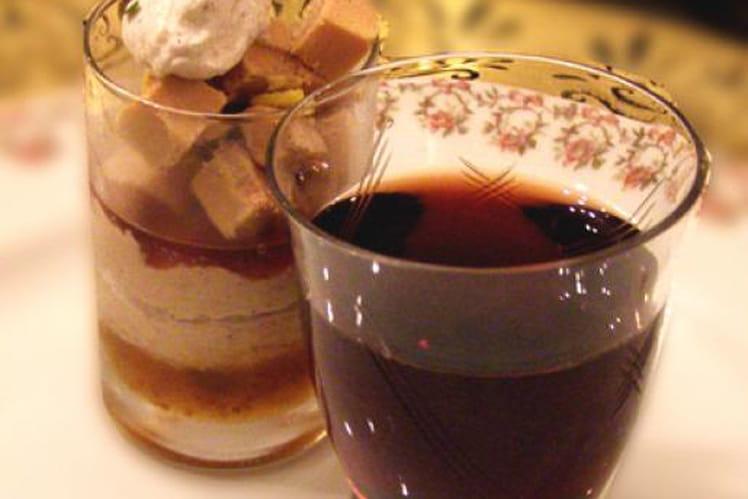 Bavarois de foie gras aux épices douces