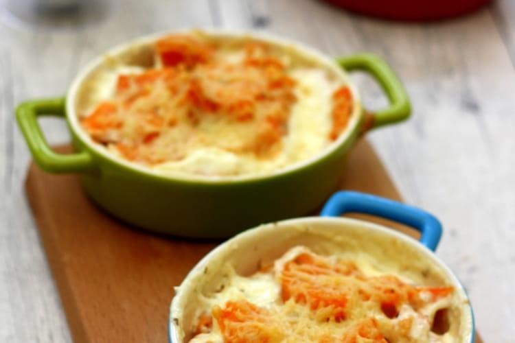 Gratin de patates douce à l'ail et gingembre : la meilleure recette
