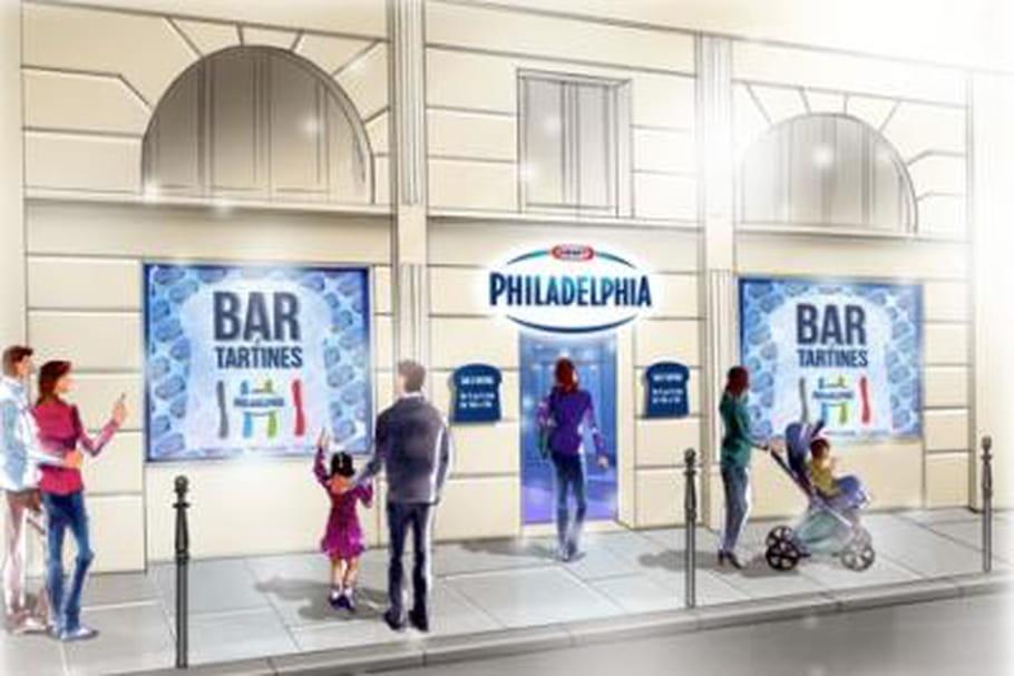 Philadelphia se tartine à Paris