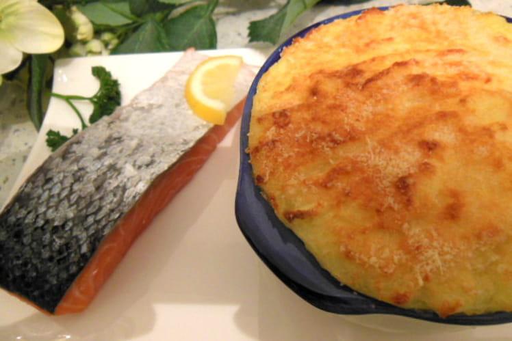 Pie de saumon au fenouil