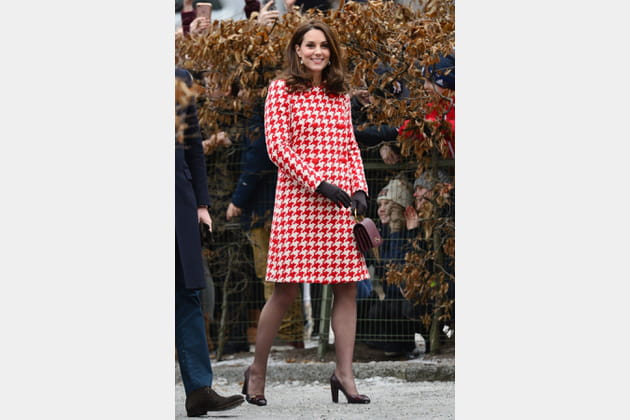 Kate Middleton le 31janvier 2018