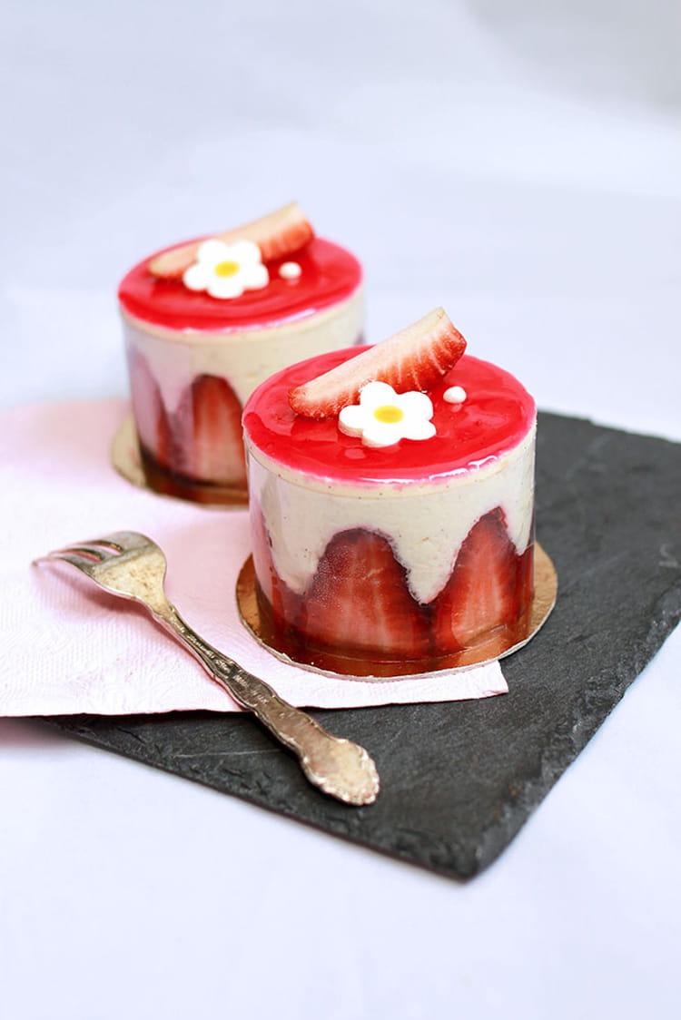 recette facile fraisier