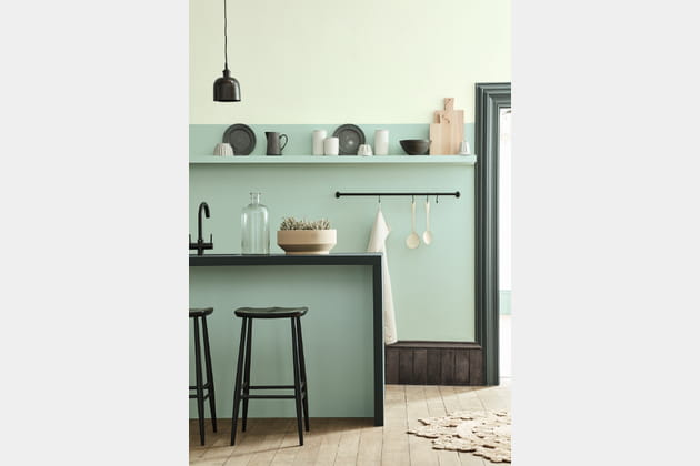 Peintures Aquamarine Pale, Mid et Livid de Little Greene