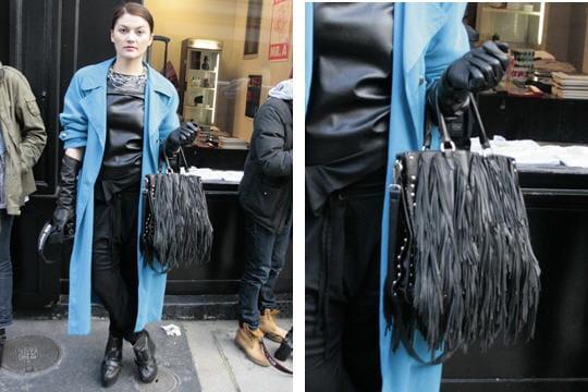 Fashion week : les street looks des défilés parisiens PAP automne-hiver 2011-2012 32