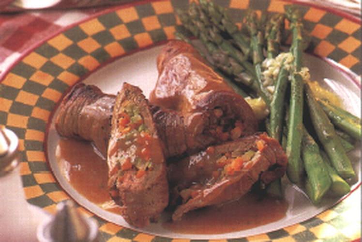 Recette de paupiettes de boeuf la recette facile - Cuisiner le coeur de boeuf ...