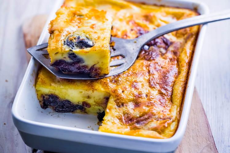 Far breton à la confiture de prunes