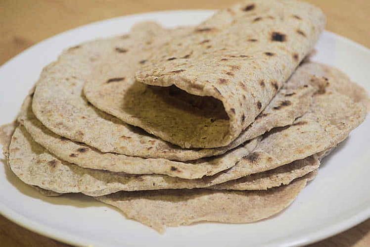 Chapati, pain indien non levé