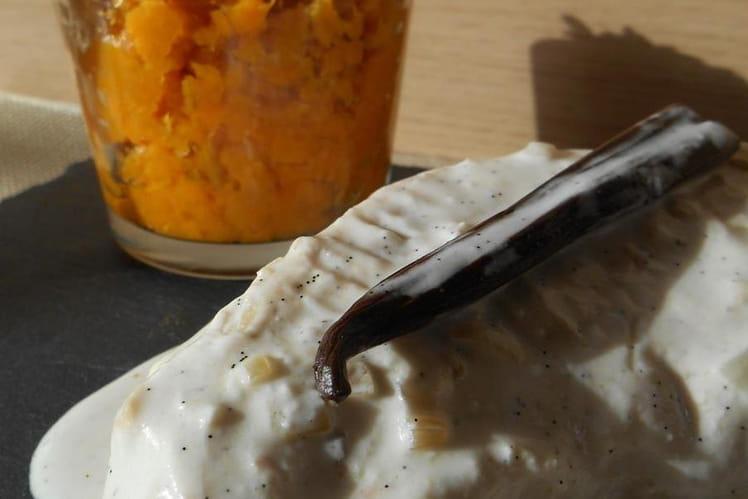 Poulet sauce coco & vanille