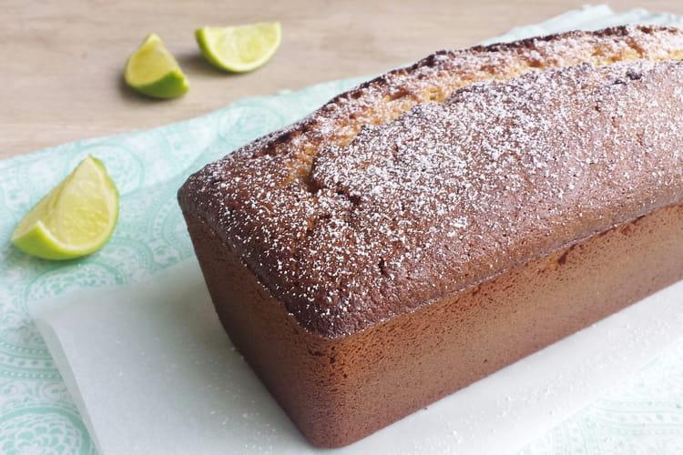 Cake noix de coco et citron vert