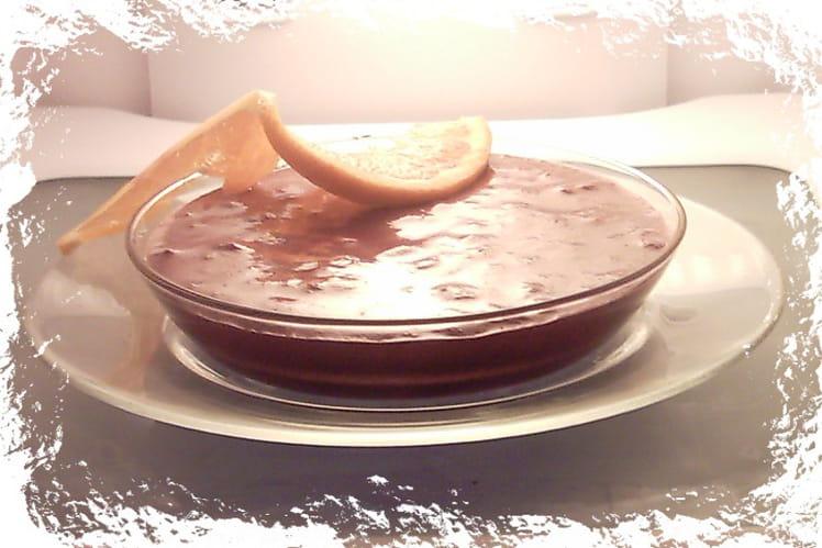 Mousse au chocolat savoureuse