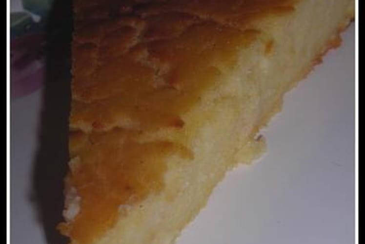 Gâteau de polenta au citron, et vanille