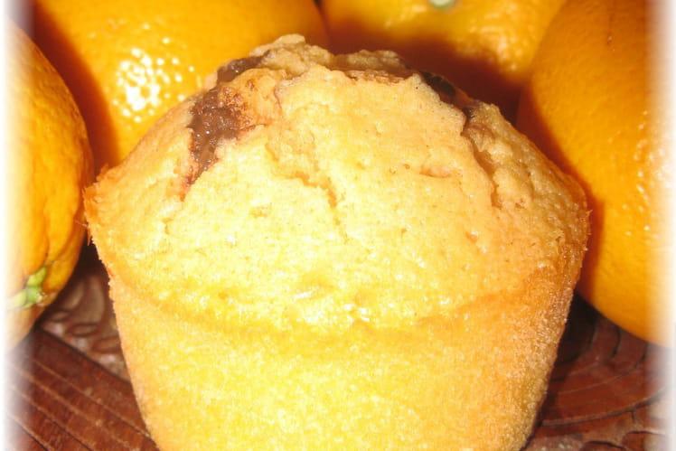 Moelleux orange et chocolat