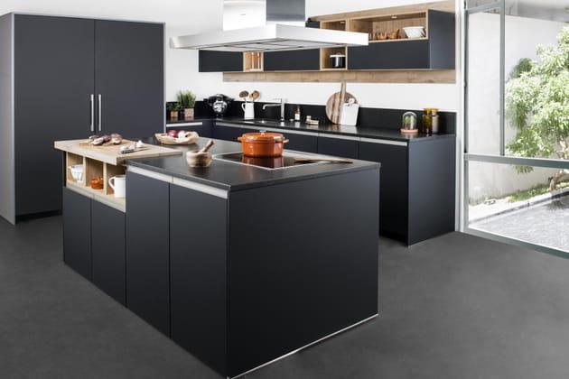 cuisine nova darty. Black Bedroom Furniture Sets. Home Design Ideas