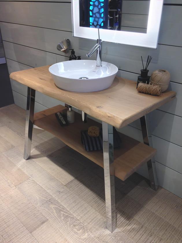 meuble vasque nature philippe starck x duravit. Black Bedroom Furniture Sets. Home Design Ideas