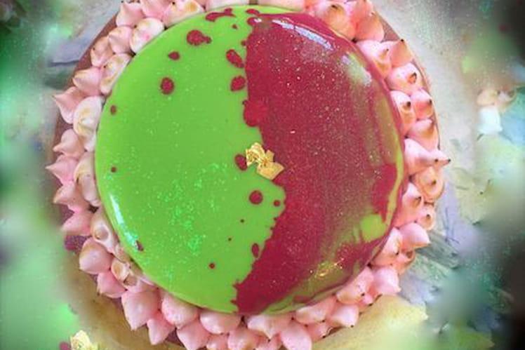 Mojito fraise revisité en tarte