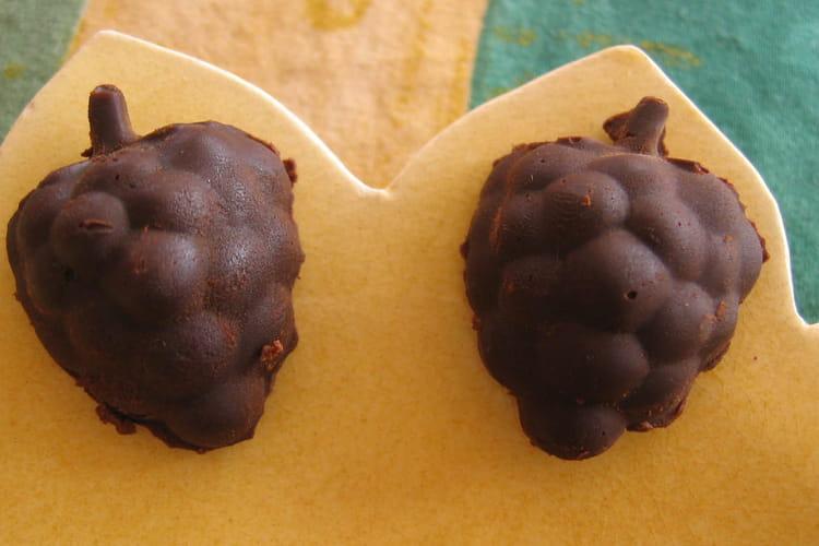 Raisins chocolatés