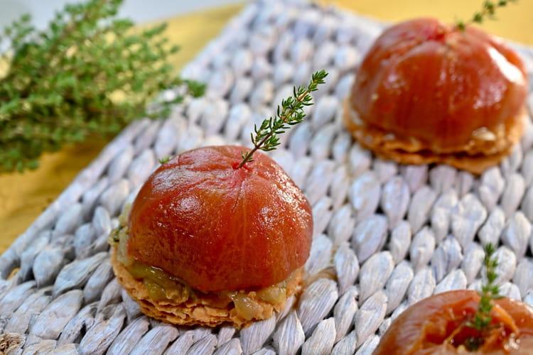 Tatin de tomate de Marmande