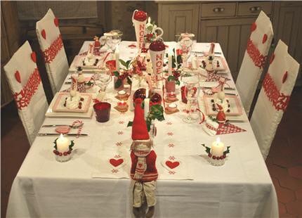 Votre table de no l - Table de noel scandinave ...