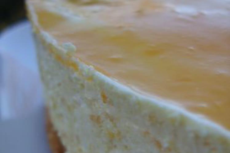 Bavarois mangue-orange