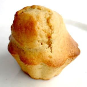 muffins à la banane et vergoise