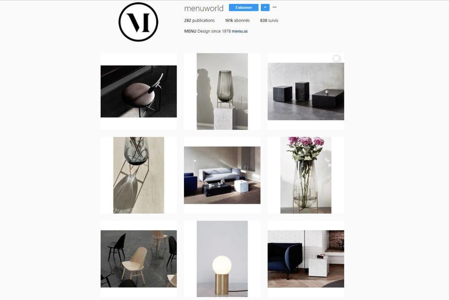 Les 3idées repérées sur l'Instagram de Menu
