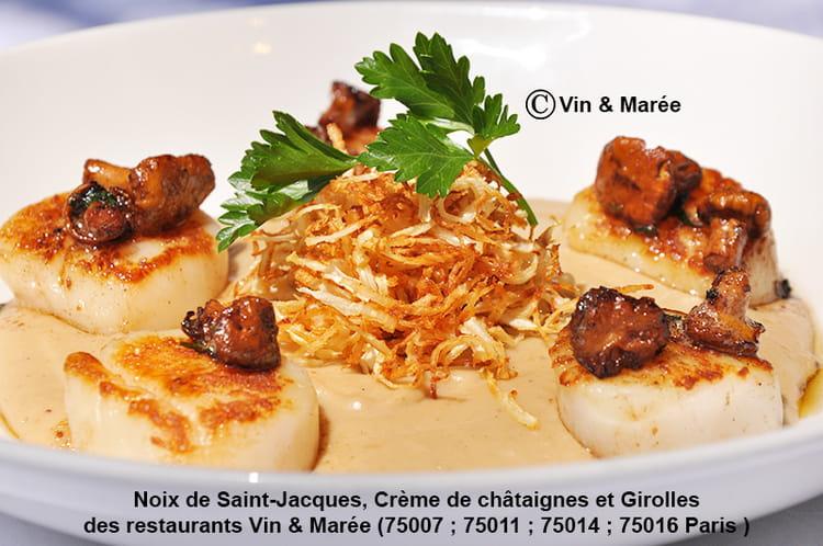 Recette de Noix de Saint-Jacques, crème de châtaignes et girolles a4b71299952