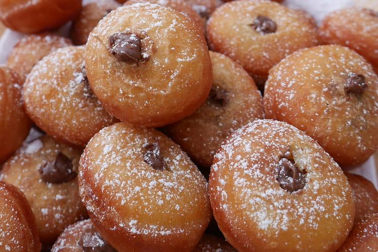 Mini beignets au Nutella de Gregory Cohen