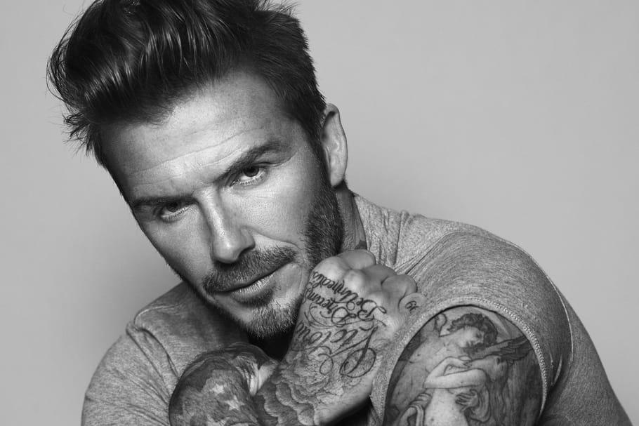 David Beckham, égérie Biotherm Homme