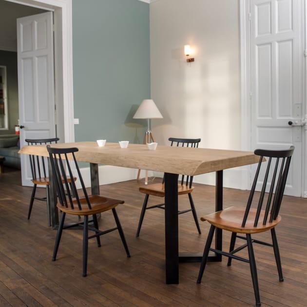 Table en chêne de Julien Ebeniste