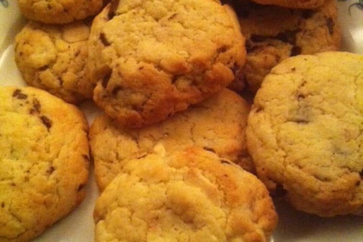 Cookie aux deux chocolats