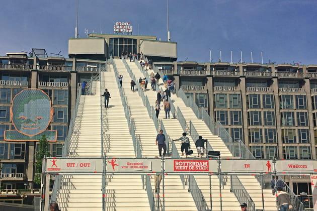 Les escaliers de Groothandelsgebouwen