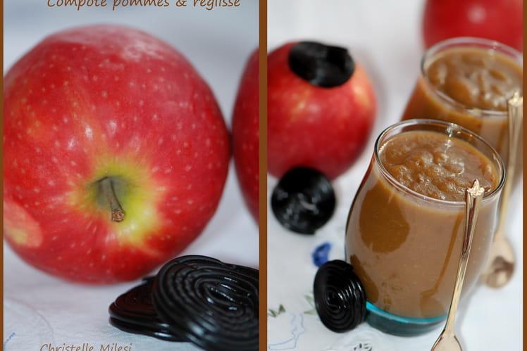 Compote pommes et réglisse