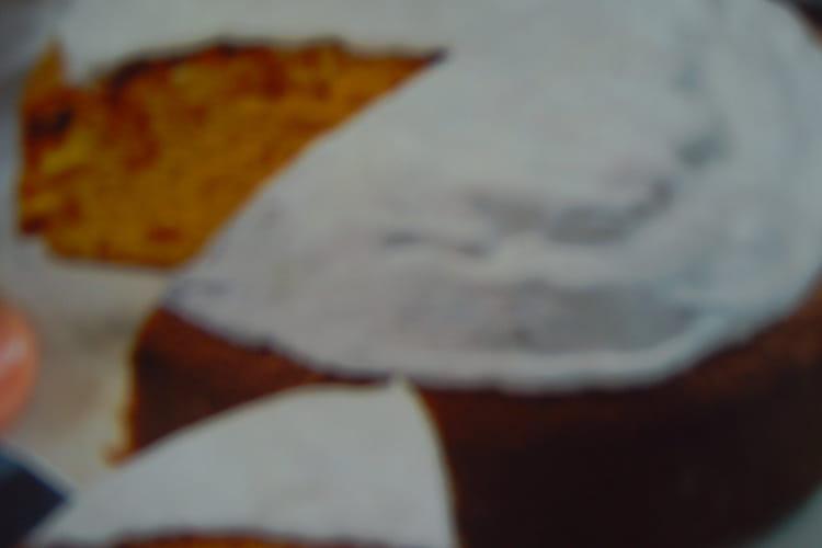 Gâteau aux carottes, abricots secs et noix